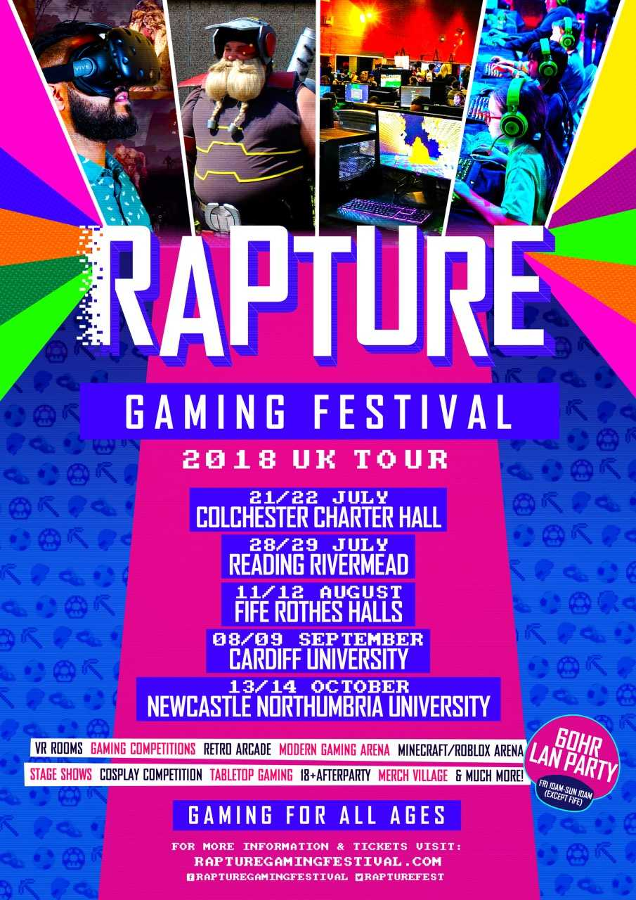 Rapture Gaming Festival 2018