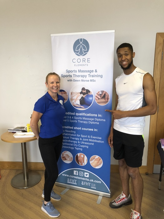 SWINDON EXPERT TRAINER IN SPORTS SCIENCE SUPPORTS UK's No 1 LONG JUMPER TO UPSKILL!