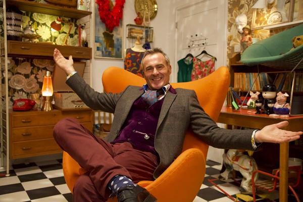 TV ANTIQUES STAR RETURNS TO THE SCREENS WITH NEW SHOW CREATED WITH HIS WIFE