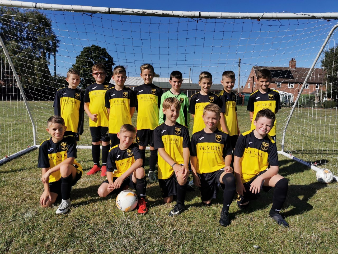 The Tadley Calleva Centurions under 11s raise £1,000 thanks to local hotel