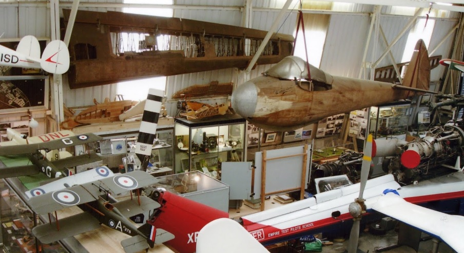 Visit the Museum of Berkshire Aviation